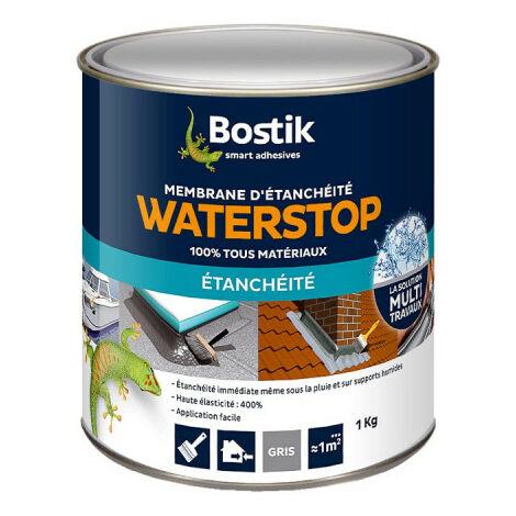 Bostik WATERSTOP waterproof membrane 1kg - Gray