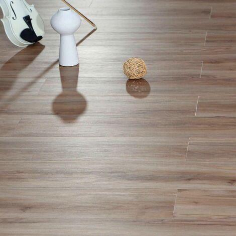 Champagne Luxury Vinyl Click Flooring Tile Plank Roll Anti-slip Kitchen Bathroom