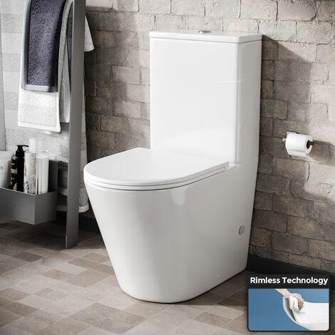Oakham Close Coupled Toilet inc Soft Close Seat
