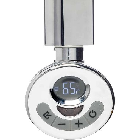 R3 ECO Electric Heating Element + With Thermostat, Timer and Remote for Towel Rails & Radiators