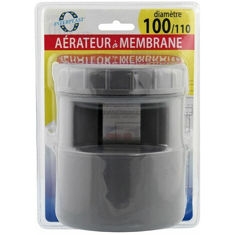 Aérateur à membrane Ø100-110 - INTERPLAST