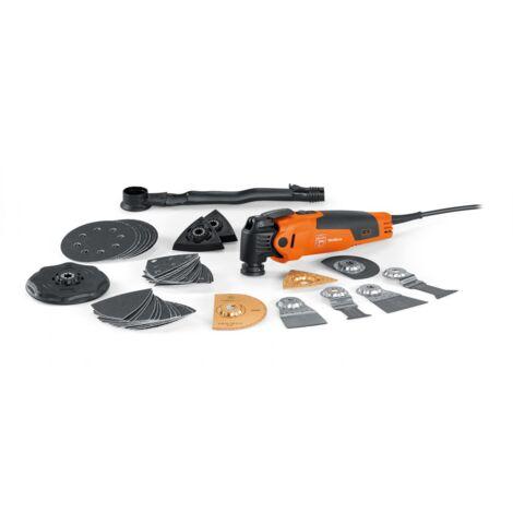 Multimaster Top FEIN FMM 350 QSL + 1 set de 3 pièces gratuites- 350W - Made in Germany- 72295284000