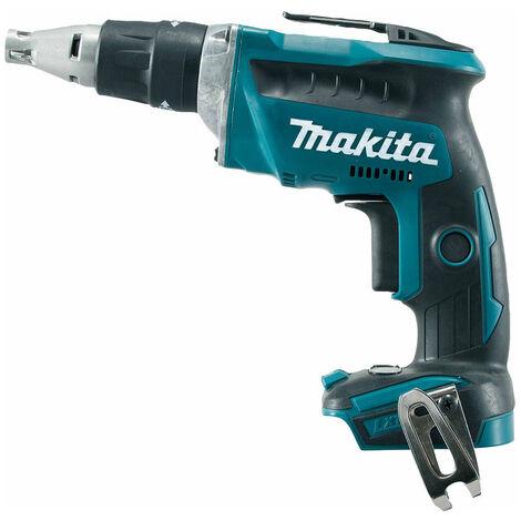 Makita Visseuse plaque de plâtre 18V (sans batterie et chargeur) - DFS452Z