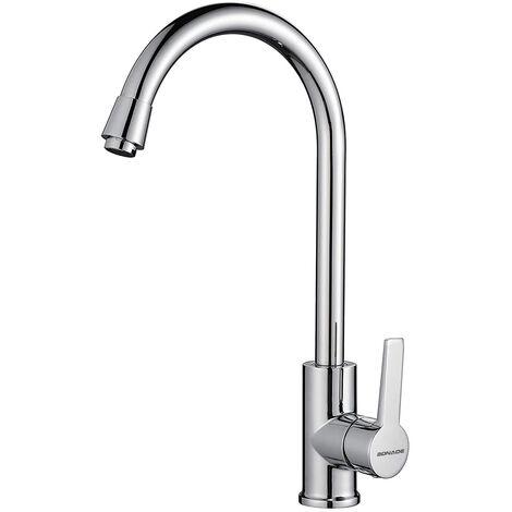 Elegante grifo cocina grifo giratorio 360° giratorio grifo grifo para cocina lavabo