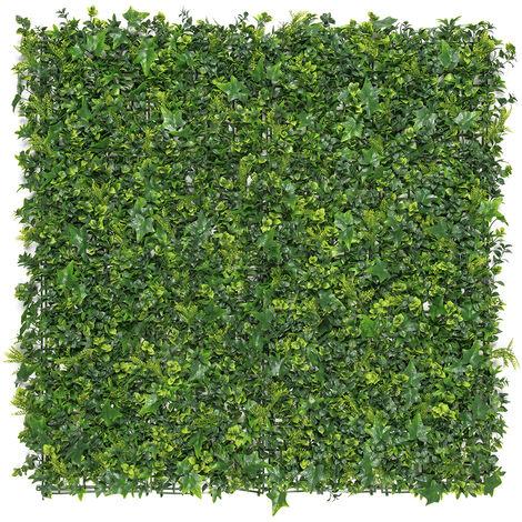 Jardín Vertical sintético Forest imitación plantas autóctonas europeas Nortene