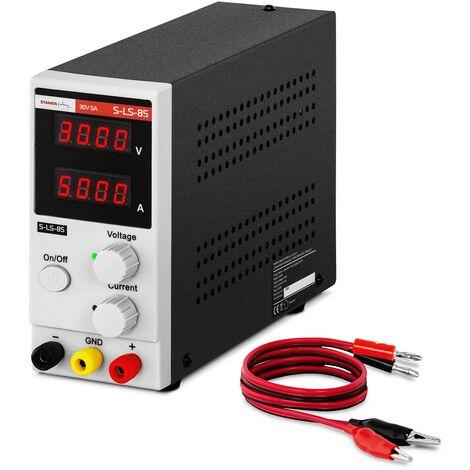 Alimentation De Laboratoire Réglable Stabilisée Linéaire LED 30 V / 5 A DC 150W