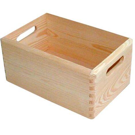 Stapelbox Holz Gr. S 30 x 20 x 13,5 cm (L x B x H)