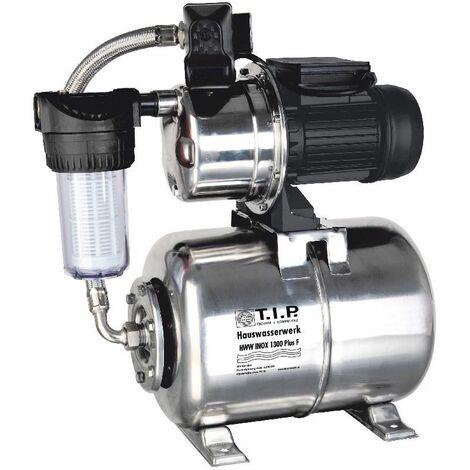 T.I.P. HausWasserWerk HWW INOX 1300 PLUS F max. Fördermenge: 4.350 l/h, 1.200 W