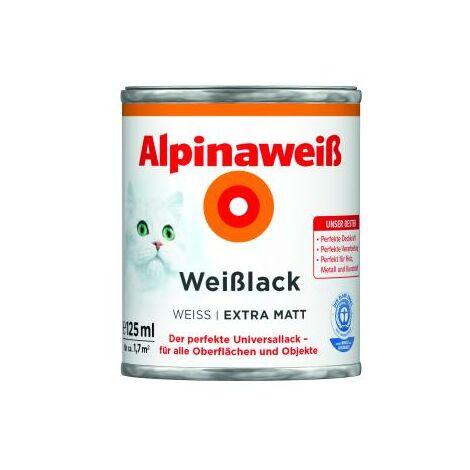 Alpinaweiß Weißlack - Der perfekte Universallack