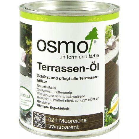 Osmo Terrassenöl - verschiedene Farbtöne