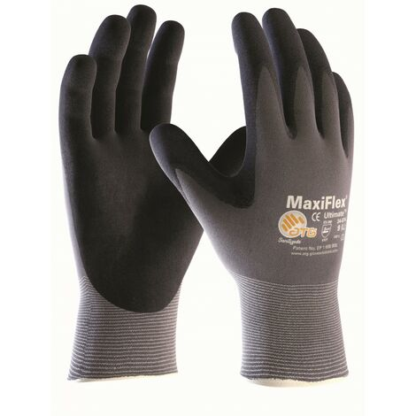ATG 34-874 Nylon-Strick Schutzhandschuhe Maxi-Flex Ultimate mit Handschuhberater