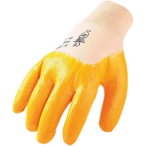 Handschuhe Nitril gelb