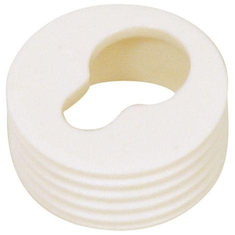 Douille d'accrochage - Diamètre : 20 mm - Décor : Blanc - ITAR