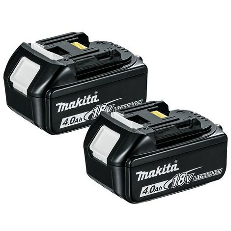 Makita BL1840 18V 4.0Ah LXT Lithium-Ion Battery - Twin Pack