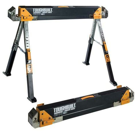 ToughBuilt T/BC7002 C700-2 Sawhorse/Jobsite Table Twin Pack