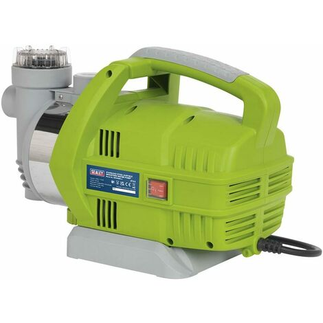 Sealey WPS062S Surface Mounting Water Pump Stainless Steel 55L/min 230V