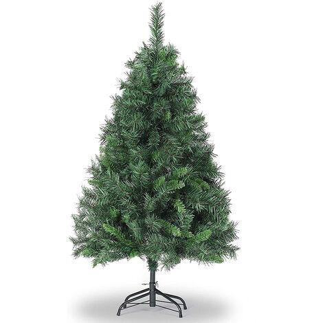 Salcar Sapin de Noël artificiel, Construction Rapide INCL. Support pour Arbre de Noël, Vert
