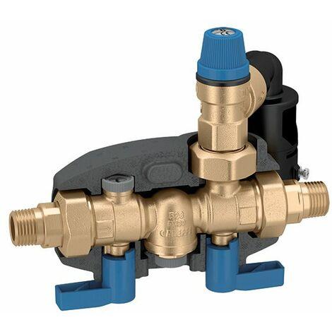 Caleffi Sicherheitsgruppe DN20 8 bar Warmwasser Bereiter Warmwasserspeicher DVGW