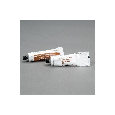 Adesivo epossidico strutturale bicomponente 3M 2216 B/A Kit 2 TUBI 124 g colore grigio per uso interno ed esterno