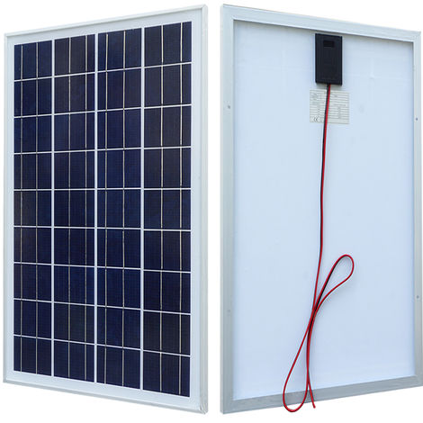 25W Solar Panel kit 12V battery charge 3A controller battery clip 2m cable Home
