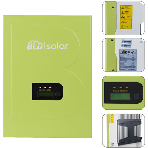 5000W Optimal MPPT Technology 5KW Solar Grid Tie Inverter for Home Solar Systems