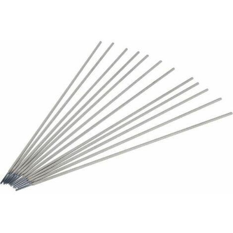 Électrodes rutiles universelles acier, diamètre 2 mm, longueur 350 mm, boîte de 155 pièces