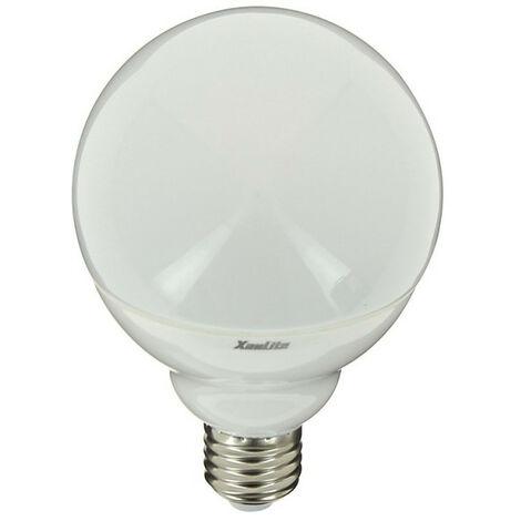 XANLITE - Ampoule LED Color - W, couleurs changeantes, culot E27, 11W cons. (75W eq.), lumière blanc chaud ou RVB - SEBRVBRW