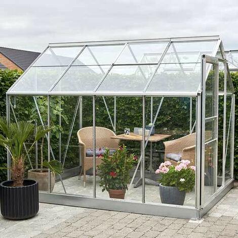 Serre en verre horticole Popular 86 - 5 m²