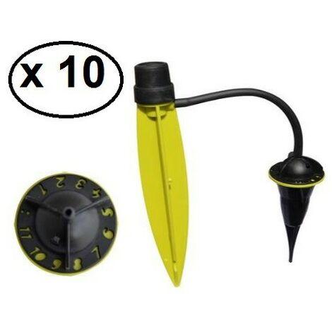 Pied goutteur Iriso X 10