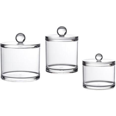 Serene Collection 3 Piece Jar Set