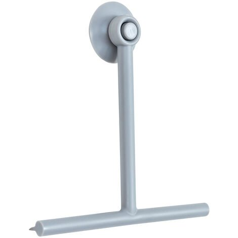 Rocco Squeegee & Holder Light Grey