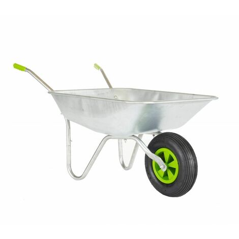 65l Wheelbarrow With Galvanised Pneumatic Tyre