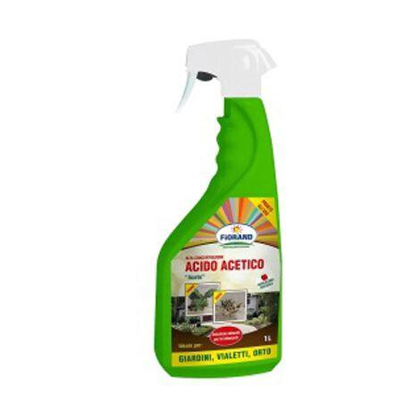 Acido acetico naturale per erbe infestanti aceto 1lt papillon