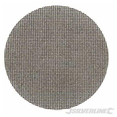 Silverline Hook & Loop Mesh Discs 225mm 10pk 180 Grit 323921