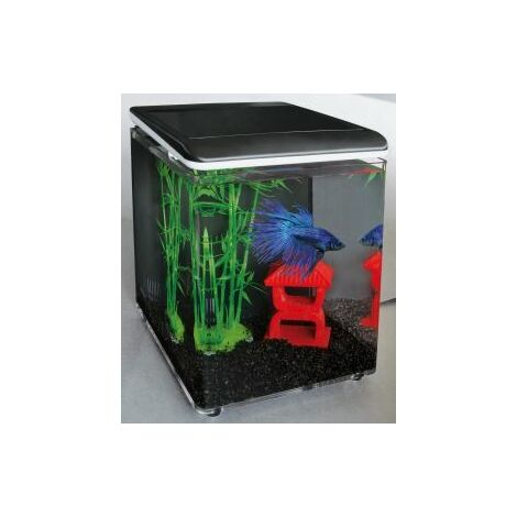 SuperFish Home 8 Aquarium Black 8L x 1 (545255)