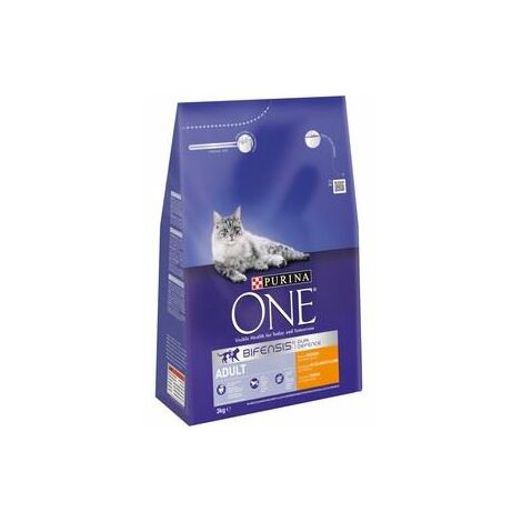 Purina One Adult Cat Chicken & Whole Grain 3kg x 1 (11168)