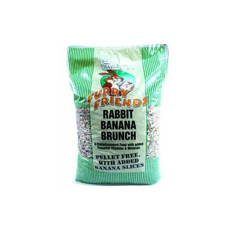 Harrisons Banana Rabbit Brunch Pellet Free 15kg x 1 (1366)