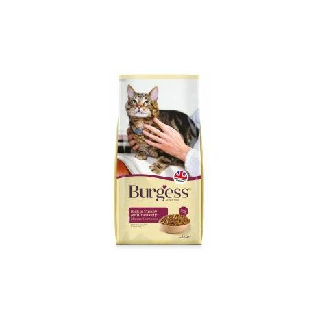 Burgess Mature Cat Turkey and Cranberry 1,4kg x 4 (19306)