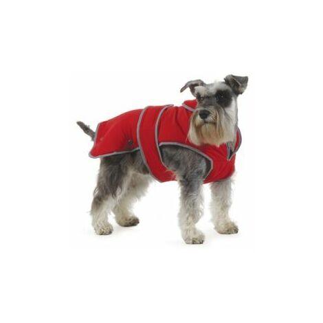 Ancol Stormguard Dog Coat Chest Protector Poppy Red Small x 1 (31300)