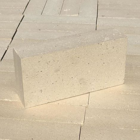 Hafnerziegel N2 250 x 124 x 64 Schamott Ofen-Bau Kamin Grill Stein Ziegel Schamotte-Stein
