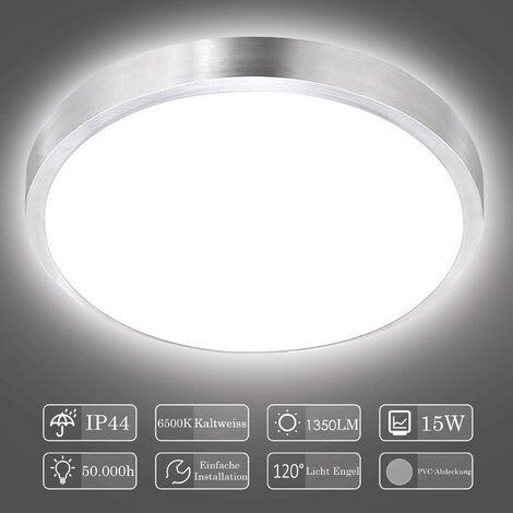 Hengda LED Deckenleuchte Deckenlampe Badezimmer Badlampe Innen Modern Wohnzimmerlampe für Bad, Flur, Küche, Balkon, Schlafzimmer
