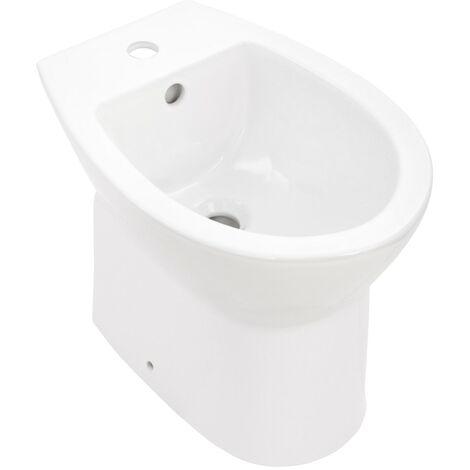 'aquaSu® Stand-Bidet   Bodenstehend   Weiß
