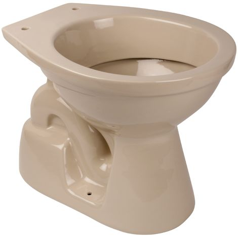 'aquaSu® Stand-WC | Tiefspüler | Abgang innen senkrecht | Bahama Beige
