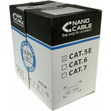 Rotolo Box Matassa Cavo Di Rete Lan Utp Dati Tvcc Cat 5e 305 Mt 305 Mt Metri