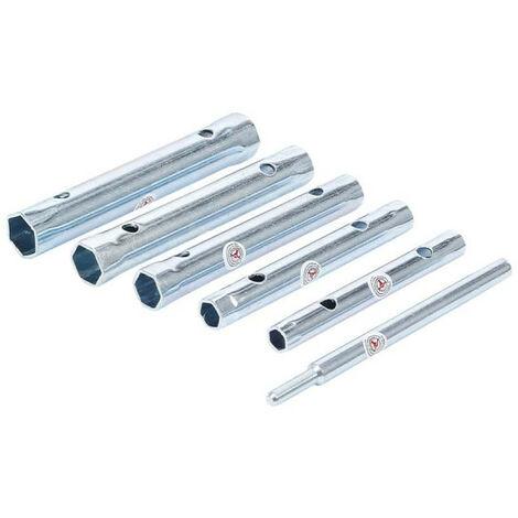 Juego de llaves de tubo BGS - 6 piezas - 85814