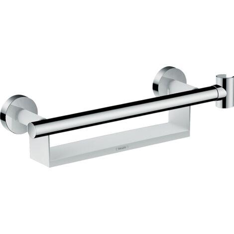 Hansgrohe - Unica Comfort Grab Rail with Shelf Shower Holder