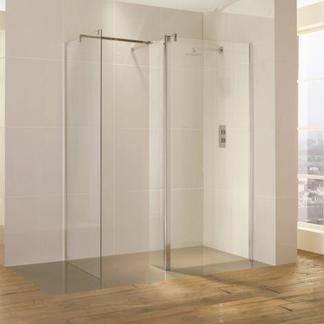 Frontline Bathrooms 1600x900 Level Square Waste Wetroom Kit