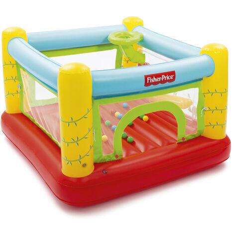 Castillo hinchable Fisher Price para niños BESTWAY