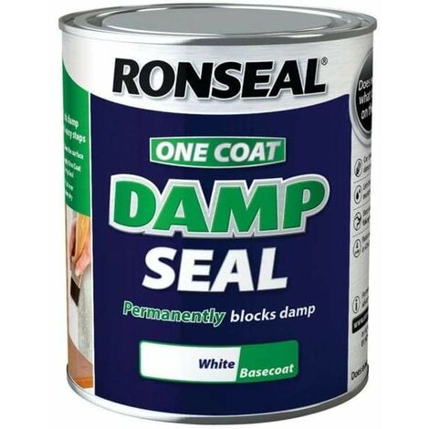 Ronseal 2.5 Litre One Coat Damp Seal - White - Default Title