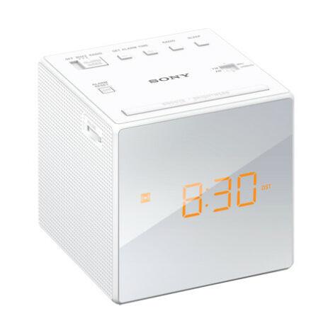 Sony ICFC1W Radiosveglia AM-FM, doppia sveglia, proiezione dell'ora